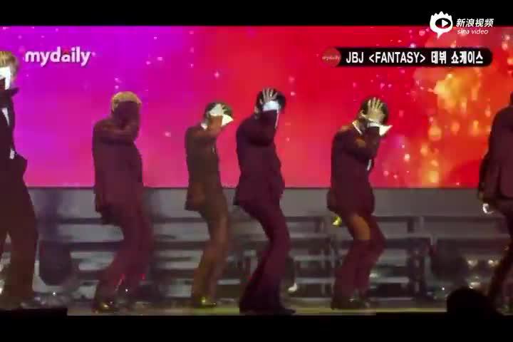 视频:韩国男团JBJ出道发布新专辑成员帅气亮相