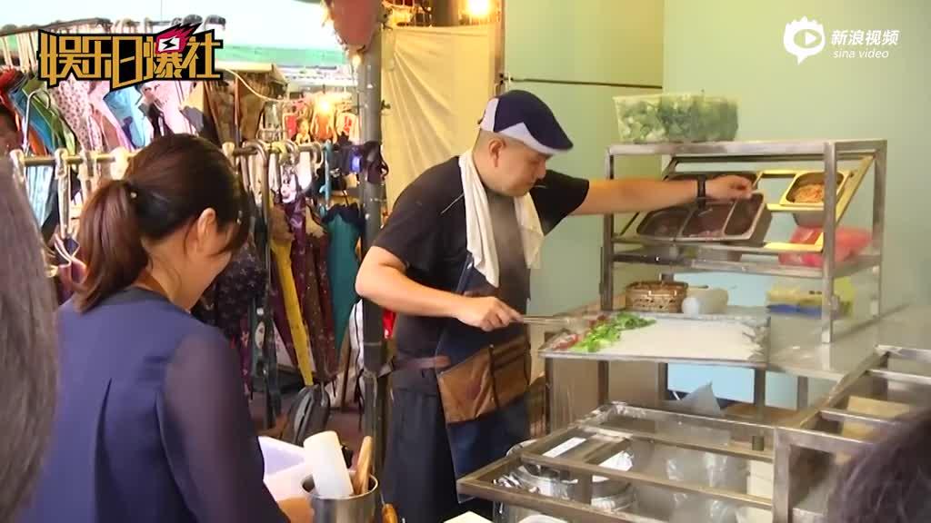 视频:兄弟命运大不同!林志颖大哥在市场摆摊卖肠粉