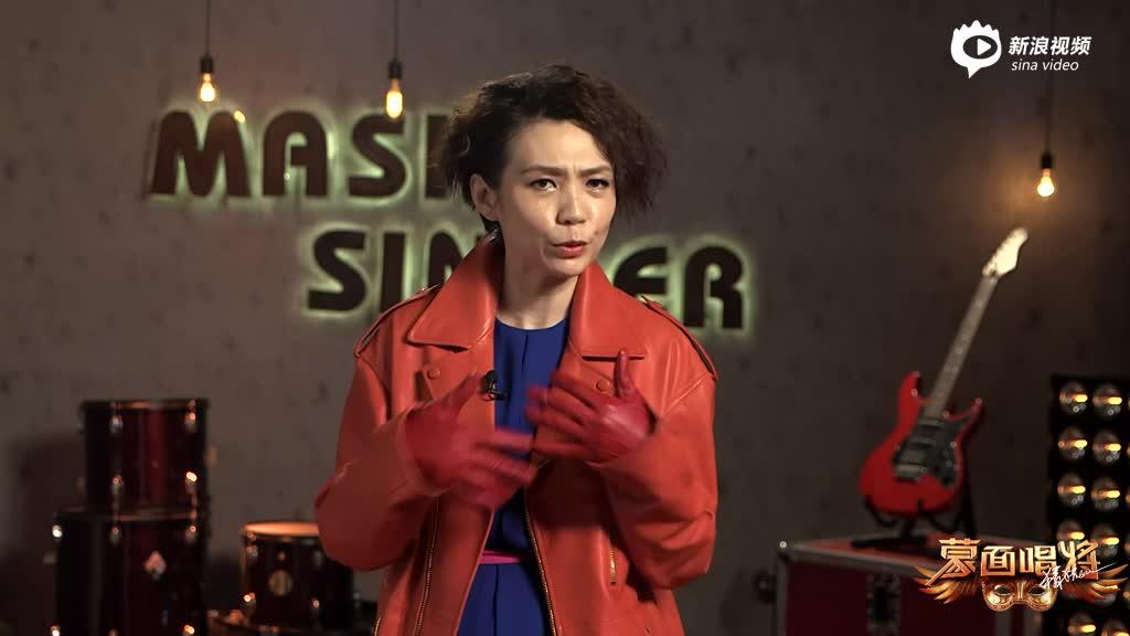 视频:《蒙面》陈洁仪揭面采访