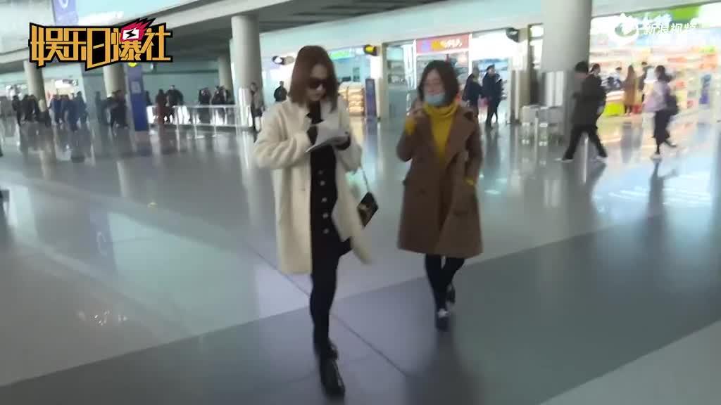 视频:甜美可爱!张慧雯现身机场实力宠粉惹人羡