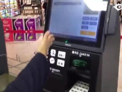 哈尔滨又添无人收款超市 自助结账新技能赶紧学起来