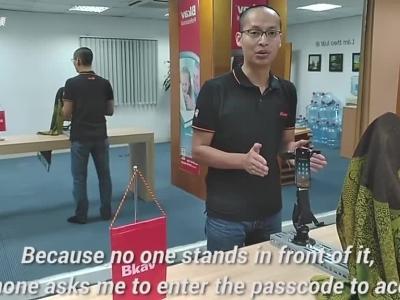 越南公司面具骗过 Face ID