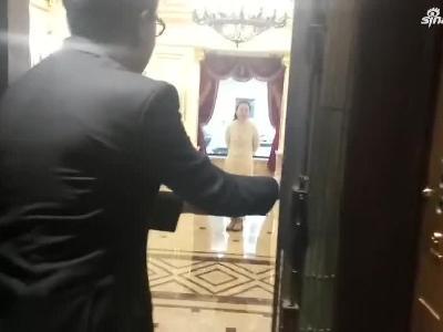试乘哈尔滨民国时期的老式电梯