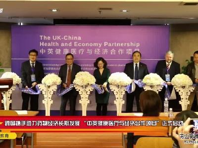 """跨国携手助力药物经济长期发展 """"中英健康医疗与经济合作项目""""正式启动"""