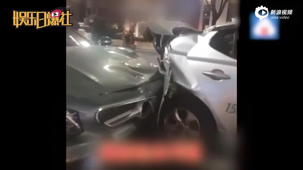 视频:泰妍车祸被撞乘客怒批先救肇事者目击者帮澄清