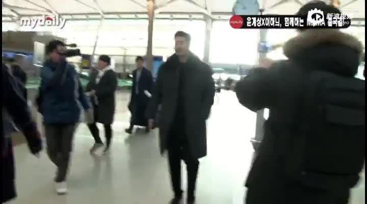 视频:尹继尚飞往中国香港出席MAMA