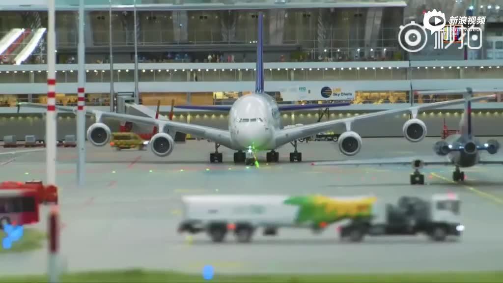 超逼真!德国汉堡世界最大的模型飞机场