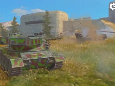 《坦克世界闪击战》公测视频