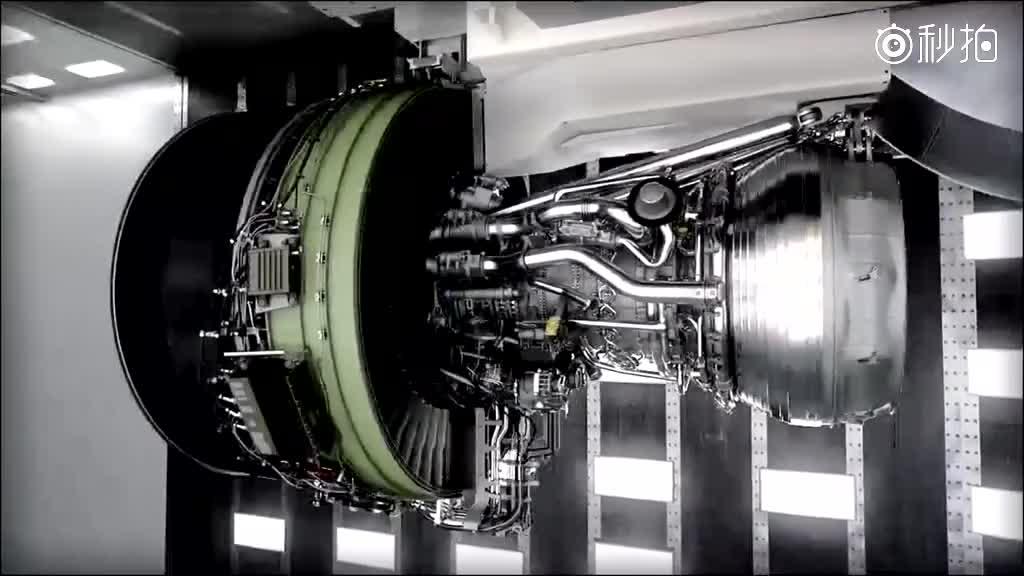 最大的航空发动机ge9x结构图
