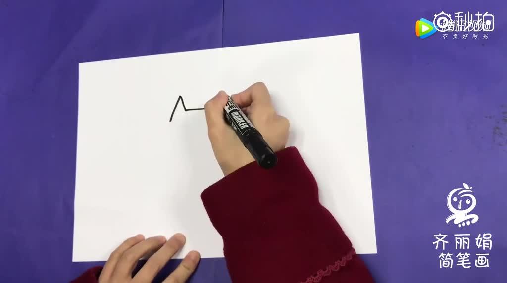幼儿简笔画大全,少儿简笔画入门,超可爱动物卡通简笔画比卡丘