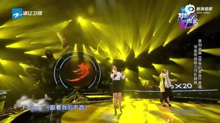 视频:《梦想的声音》首唱 羽泉现场助力邝氏姐妹