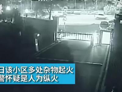 为寻刺激,22岁大学生连续纵火烧车