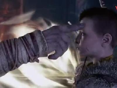 索尼《战神4》PS4 Pro主机同捆套装限定版展示