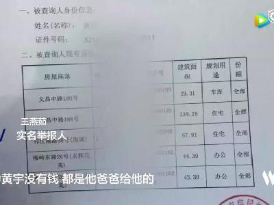 扬州国资委原主任被儿子前女友告倒 为举报一度租房住在省纪委旁
