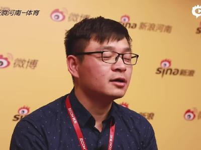 2018郑开马拉松专访:京东物流郑州大件运营中心白红宾