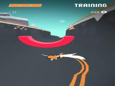 《滑板色彩冲浪》游戏视频