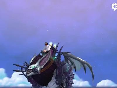 争霸艾泽拉斯前夕坐骑预览:幽暗城魔蝠