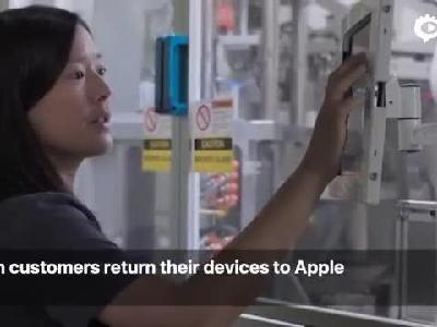 苹果首次推出新款iPhone回收机器人