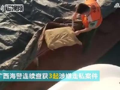 """广西海警查获""""僵尸肉""""280余吨"""