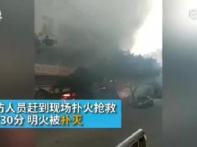 东莞长安镇一民宅起火,两被困人员身亡