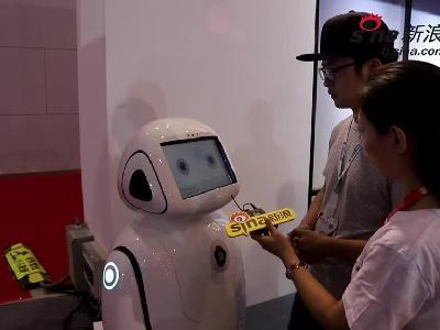探展:世界智能科技展百度展台