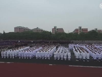 南京应用技术学校升旗仪式
