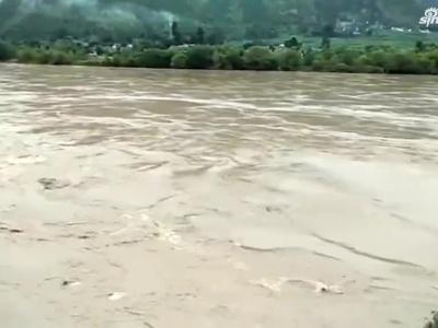 地势低洼的地方会被淹