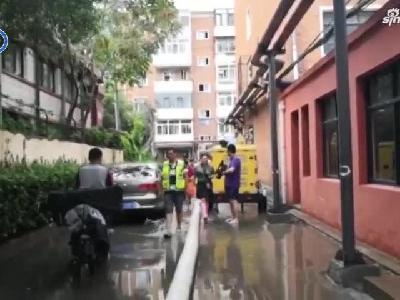 【津云微视】凌研里积水难退 排水十所出手