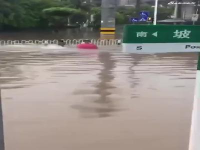 坡巷路有市民不慎跌入水中 超清(720P)