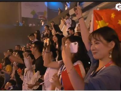 亚运会英雄联盟表演赛中国获胜后选手采访