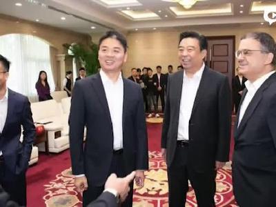 刘强东回国恢复工作精神饱满