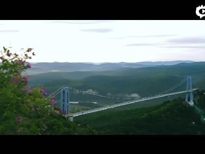 [生态秘境——云中漫步]#美丽延边微视频#龙井市琵岩山文化旅游风景