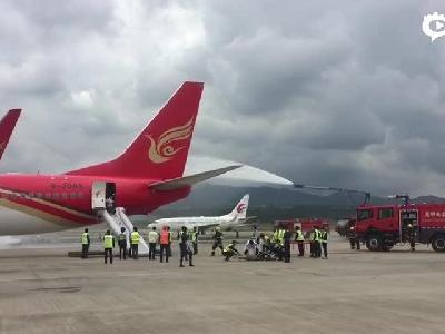 12个专业组响应300余人参加 长水机场应急演练玩真的