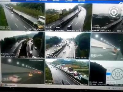 国庆黄金周第一天 近50万辆次车辆出入进出昆高速1