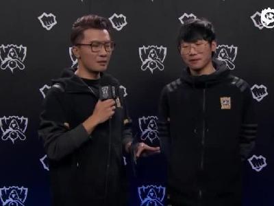 小组赛D8 100T vs IG赛后采访Ning