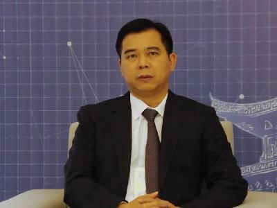 朱东接受新浪广西专访