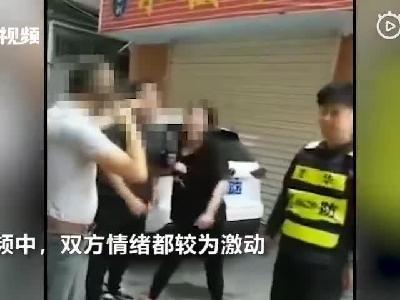 视频:网传深圳某村领导街头掌掴孕妇 视频曝光事发过程