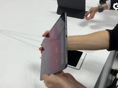 苹果10月发布会:新iPad Pro现场上手体验