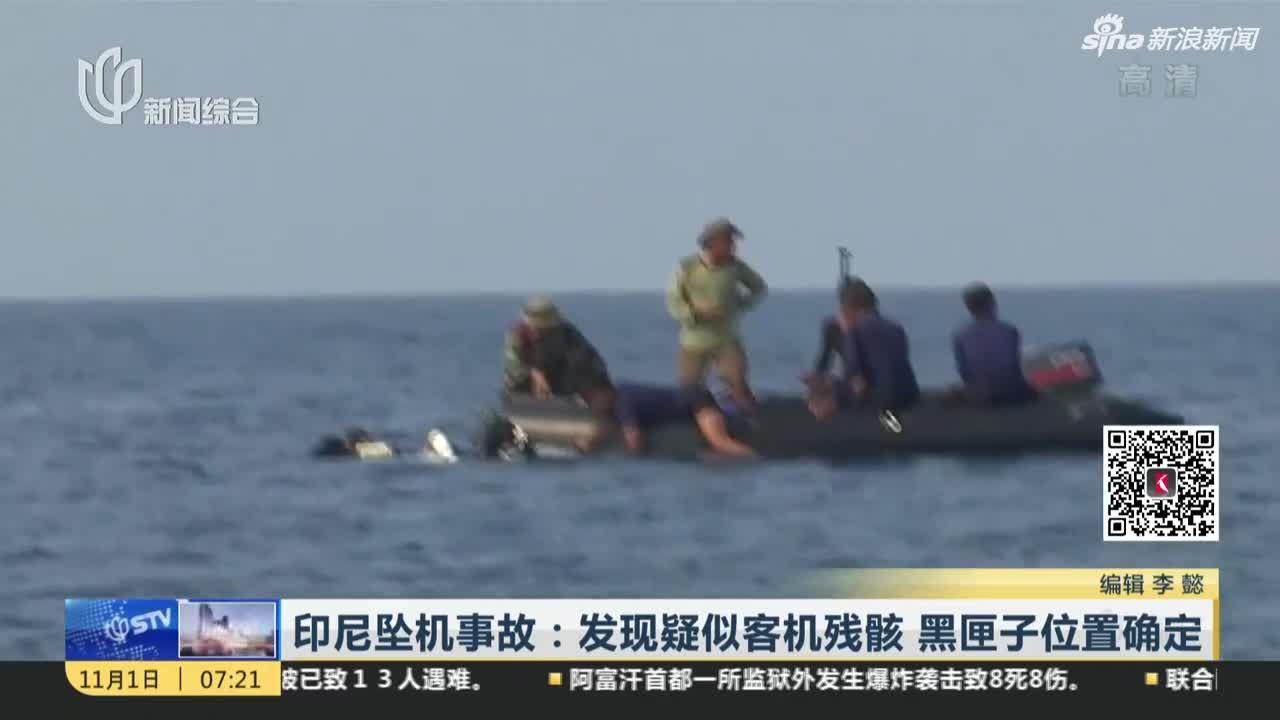 视频|印尼坠机事故:发现疑似客机残骸  黑匣子位