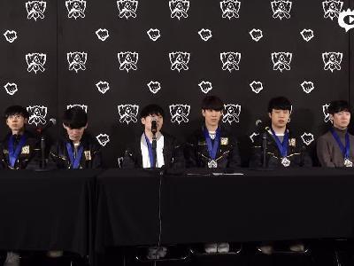 IG夺冠后全员采访完整版