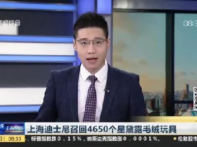 视频:上海迪士尼召回星黛露毛绒玩具小部件易脱落