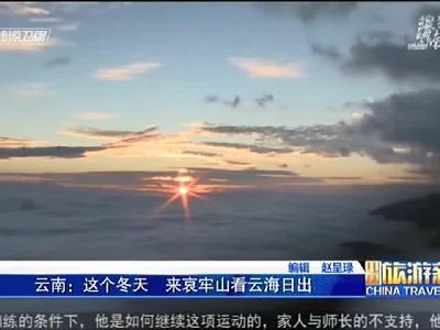 【视频】云南:这个冬天 来哀牢山看云海日出