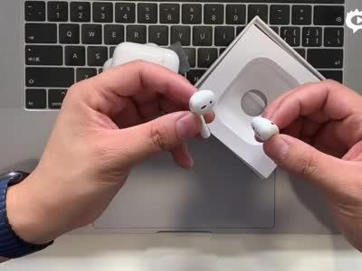苹果AirPods 2代上手