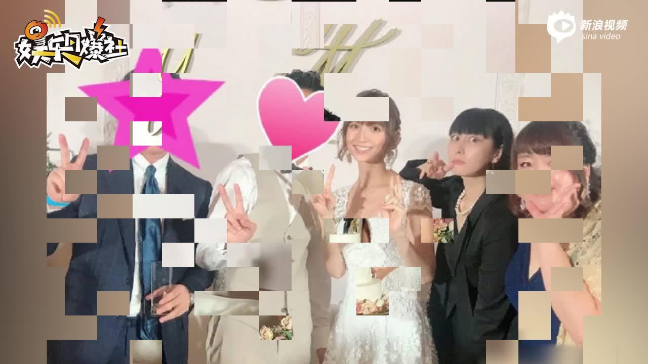 视频:AKB初代神七成员篠田麻里子已怀孕