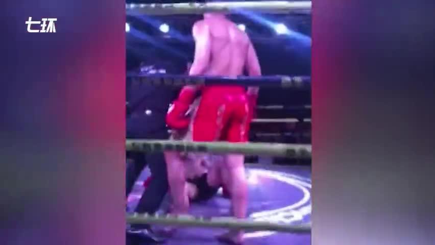 视频:小伙练综合格斗1秒出7拳 怕父母担心不让他