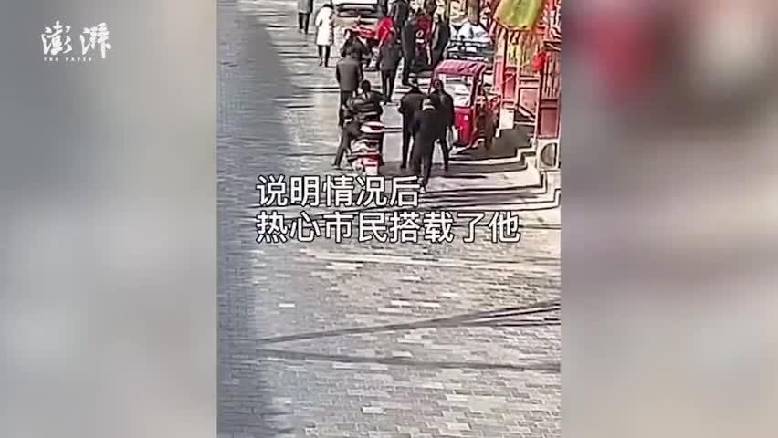 视频-要不要这么巧!陕西网逃人员骑车载民警抓自己