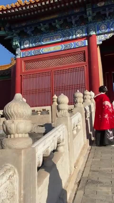 视频:故宫太大太挤导游都走丢了? 故宫广播找导游