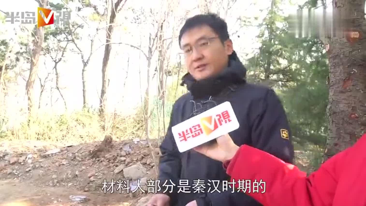 视频-青岛琅琊台考古罕见发现:两千年前已有下水管