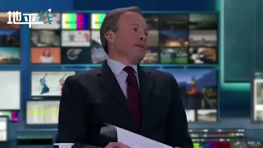 视频-英国电视主持人连续8小时直播大选 累到瘫坐