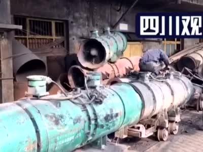 #四川宜宾珙县一煤矿发生透水事故# 局部通风机准备下井 利于搜救